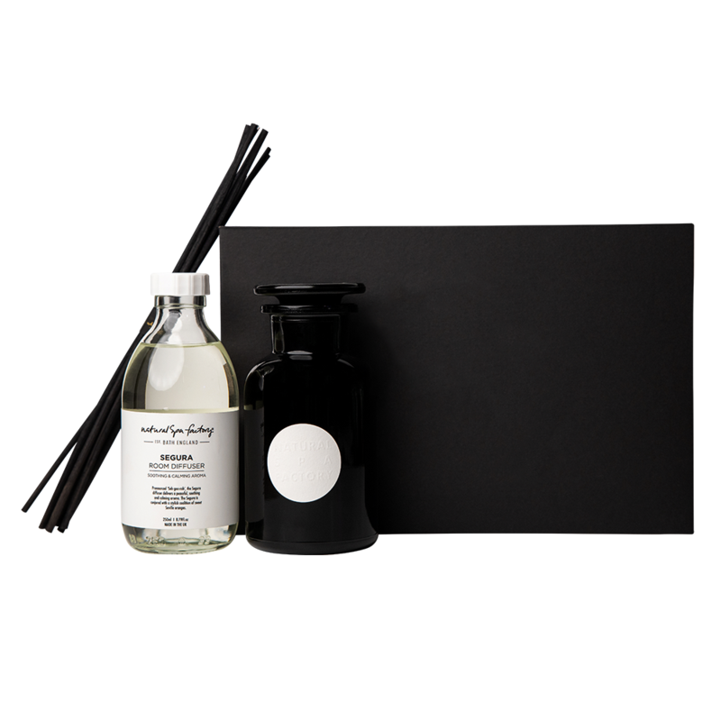 Segura Apothecary Room Diffuser With Black Reeds